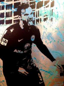 Seferovic, Eintracht Frankfurt, Fussball, diana eger, frankfurt, Kunst, haris seferovic, 9