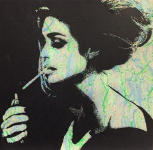 Diana eger, Kunst, frankfurt, Auftrags Kunst, Brigitte Bardot