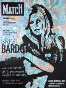 Diana Eger, brigitte bardot, Frankfurt, kunst, art