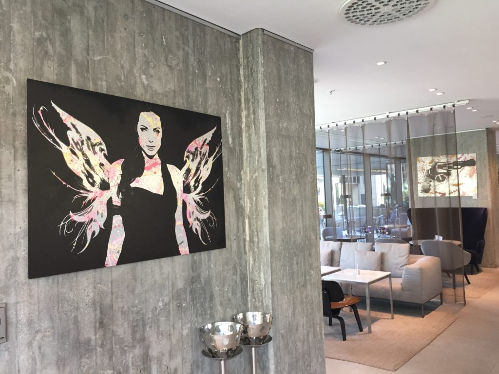 Diana Eger, Auftragskunst, Frankfurt, brushed Aluminium