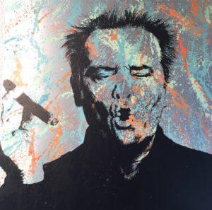 diana eger, kunst, frankfurt, art, jack Nicholson, Auftragskunst, individuell, Geschenke