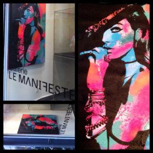 Galerie le Manifeste, Paris, diana eger, customized art, auftragskunst, frankfurt, Galerie, Ausstellung