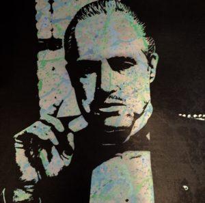 diana eger, art, frankfurt, Kunst, der Pate, godfather, Marlon Brando