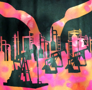diana eger, auftrtagskunst, costomized, art, individuelle geschenke, geschenke, gift, individuele, frankfurt, remittance, texas, drilling, fracking, Jacob Warnock, Austin