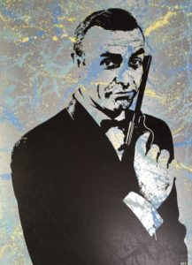 Diana Eger, kunst, frankfurt, art, James Bond, 007, Sean Connery
