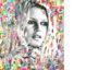 wood, art, Brigitte Bardot, diana eger, kunst, frankfurt, auftragskunst, portrait