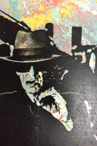 Diana eger, udo lindenberg, frankfurt, art, kunst, smoking