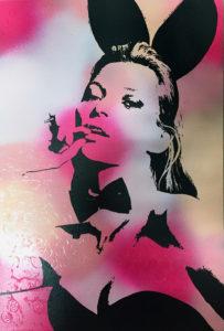 Diana Eger, playboy, bunny, kate moss, kunst, frankfurt, london
