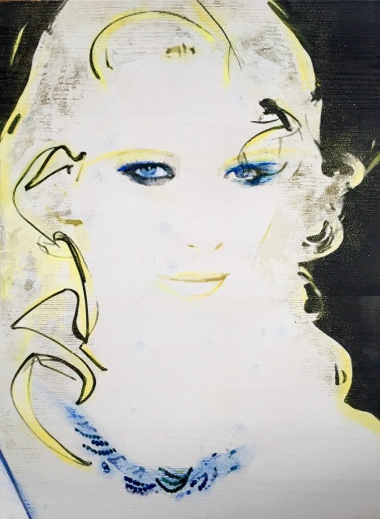 diana eger, art, kunst, Frankfurt, Popart, Auftragsarbeit, shop, costomized art, Künstlerin, cate blanchett´