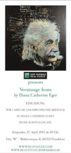 Vernissage, Diana Eger, Ausstellung, frankfurt, exhibition, art show, Einladung, Bnp, Bnp paribas, Einstein