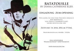 Vernissage, Diana Eger, Ausstellung, frankfurt, exhibition, art show, Einladung, opening