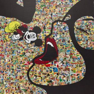 diana eger, art, kunst, Frankfurt, Popart, Auftragskunst, shop, customized art, Künstlerin, wood, catwoman, Mickey, mouse, Disney