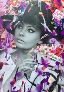 Diana Eger, kunst, Frankfurt, art, loren, Sophia loren