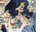 comic collage, diana eger, kunst, frankfurt, aufragskunst, portrait, batman, wonder woman, comic