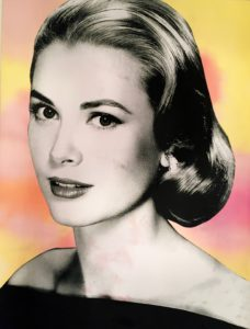 Diana Eger, Auftragskunst, frankfurt, Grace Kelly, art on wood