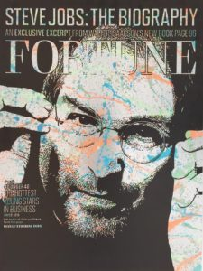 diana eger, art, kunst, Frankfurt, Popart, Auftragsarbeit, shop, costomized art, Künstlerin, steve, jobs, fortune, Magazin, cover, money, $
