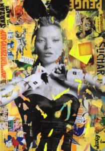 Diana Eger, kunst, Frankfurt, art, loren, Sophia loren, playboy, bunny, Kate moss