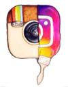 diana eger, art, kunst, Frankfurt, Popart, Auftragsarbeit, shop, costomized art, Künstlerin, Instagram