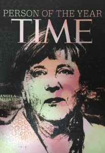 Auftragskunst, kunst, art, customized art, remittance art, Frankfurt, art on aluminium, diana eger, time, angela Merkel, cdu
