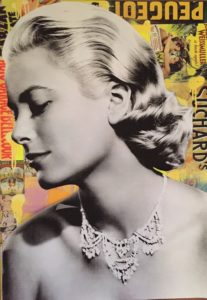 dianaegerart, diana Eger, kunst, frankfurt, Popart, art, Claudia Schiffer, Schiffer, grace Kelly