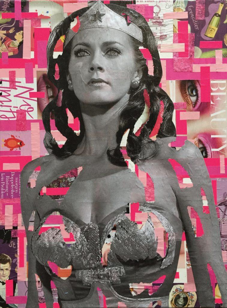 wonderwoman, Monica Bellucci, dianaegerart, diana Eger, kunst, frankfurt, Popart, art, Claudia Schiffer, Schiffer, grace Kelly, Ursula andres