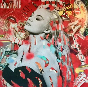 Monica Bellucci, dianaegerart, diana Eger, kunst, frankfurt, Popart, art, Claudia Schiffer, Schiffer, grace Kelly, Fellini, Ursula andres