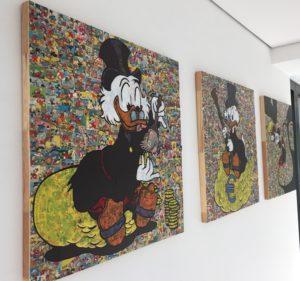 dianaegerart, diana Eger, kunst, frankfurt, Popart, comic, Auftragskunst