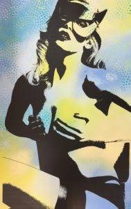dianaegerart, diana Eger, kunst, frankfurt, Popart, Claudia Schiffer