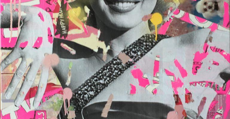 dianaegerart, diana Eger, kunst, frankfurt, Popart, MarilynMonroe