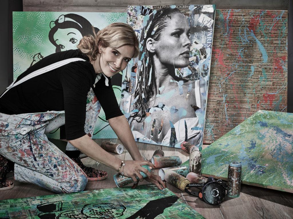 Diana Eger, kunst, frankfurt, art, Auftragskunst, dianaegerart