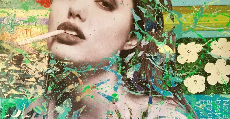 dianaeger, Artcar, art, Frankfurt, Porsche, 993, Popart, kunst, PorscheTurbo, sofitel, sofitel frankfurt. Angelina Jolie, Collage