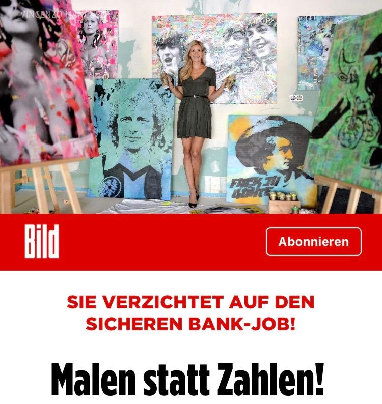 Diana Eger, Kunst, art, Frankfurt, Popart, Eintracht,