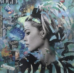 Diana Eger, kunst, Brigitte Bardot, Frankfurt, art, Kate Moss, Model, Auftragskunst, Frankfurt