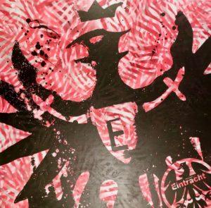 Seferovic, Eintracht Frankfurt, Fussball, diana eger, frankfurt, Kunst, haris seferovic, 9, bernd hölzenbein, Auftragsarbeit, diana eger, auftragskunst, customized, art, individuelle geschenke, geschenke, gift, individuelle, frankfurt, remittance art