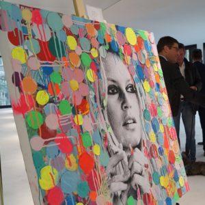 Brigitte Bardot, Diana Eger, popart, frankfurt, art, kunst, Auftragskunst