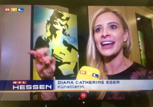 Diana Eger, kunst, frankfurt, RTL, art