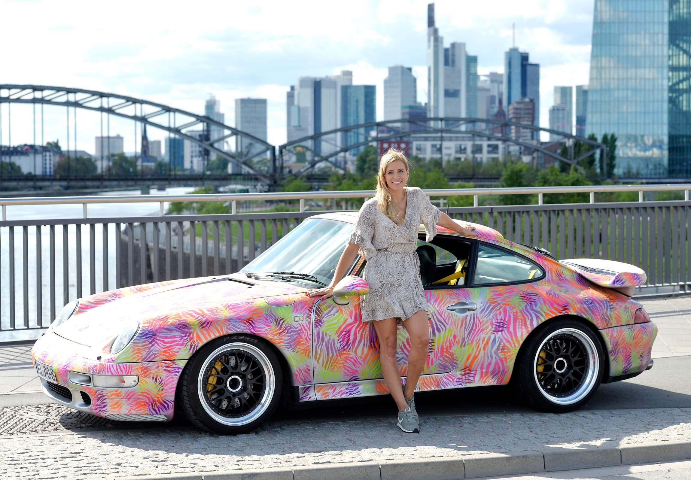 JÖRG ORTMANN, Vincenzo Marcus, Diana Eger, dianaeger, Artcar, art, Frankfurt, Porsche, 993, Popart, kunst, PorscheTurbo