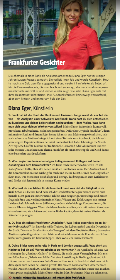 Diana Eger, dianaeger, Artcar, art, Frankfurt, Porsche, 993, Popart, kunst, PorscheTurbo, frizz, Kunst