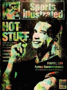 vogue, Diana Eger, art, kunst, Frankfurt, Popart, Skyline, Kate Moss, Schwarzenegger, Arnold