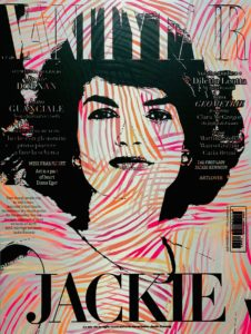 Diana Eger, art, kunst, Frankfurt, Popart, Skyline, vanityfar, Jackie, Kennedy