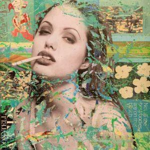 Auftragskunst, Auftragsarbeit, kunst, customized art, remittance art, Frankfurt, art on aluminium, diana eger, künstler, wanted, aluminium, canvas, alu dibond, romy schneider, brigitte bardot, diana, princess, prinzessin, time, time magazin, Angelina Jolie